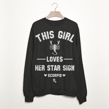 Scorpio Women's Zodiac Star Sign Sweatshirt
