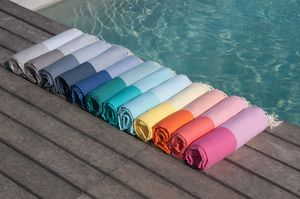 Stripy Honeycomb Hamam Towel - towels & bath mats