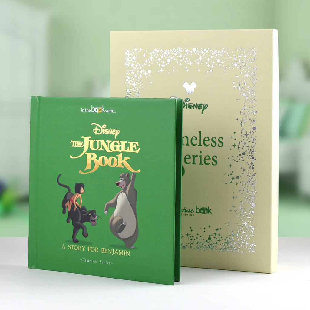 Personalised Vintage Gift Boxed Jungle Book