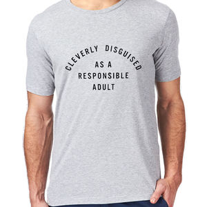 Responsible Adult Funny Mens T Shirt Sweatshirt - men's fashion