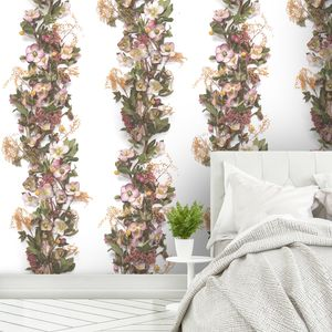 Hellebore Panel Wallpaper By Woodchip And Magnolia - home decorating