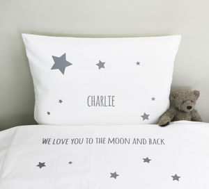 Personalised Child's Bed Linen