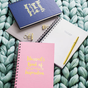 Inspirational Secret Messages Notebook - gifts for teenage girls