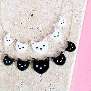 Cat Necklace - jewellery & accessories