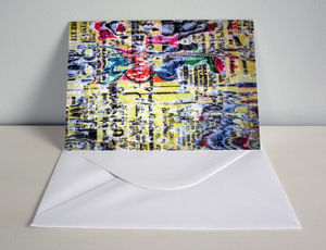 Paper Texture Greeting Card