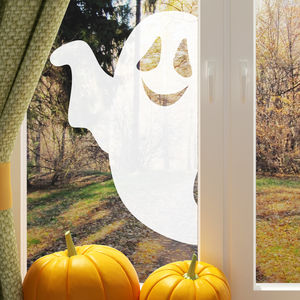 Halloween Ghost Window Sticker - party decorations