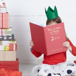 Personalised Your Letter To Santa Book - gifts for children