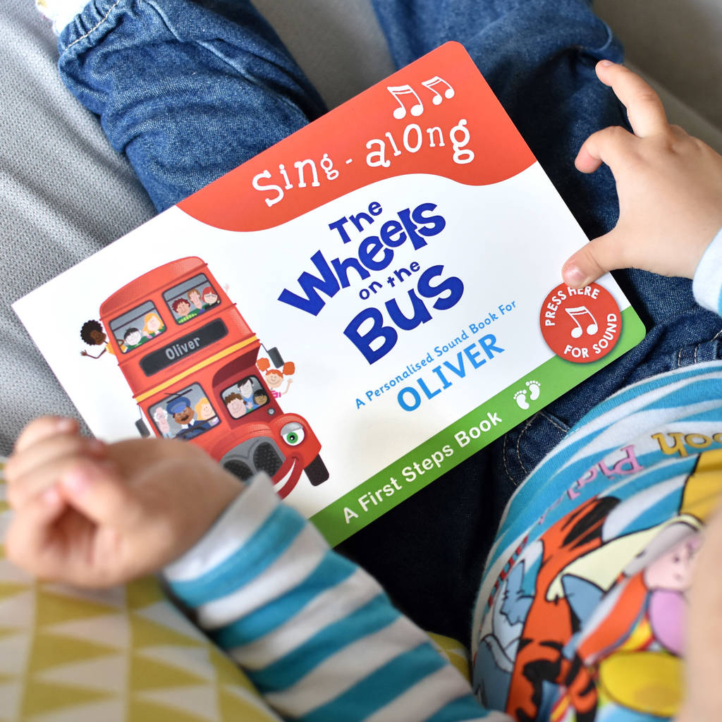 Wheels On The Bus First Steps Sound Book