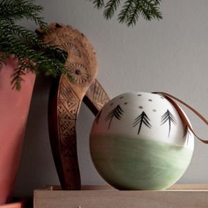 Ceramic Christmas Bauble