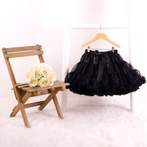 Pettiskirt Tutu In Black Magic