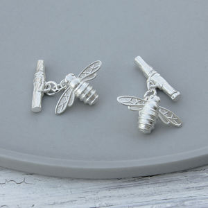 Bee And Rowan Cufflinks
