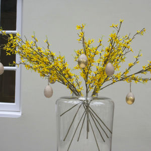 Yellow Forsythia Easter Spray
