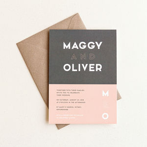 Fifty Two Wedding Invitation - invitations