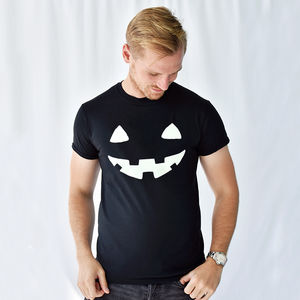 'Pumpkin Face' Halloween Men's T Shirt