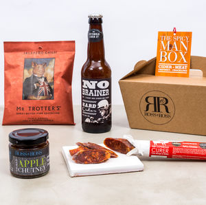 Cider Spicy Man Box - spice-lover gifts