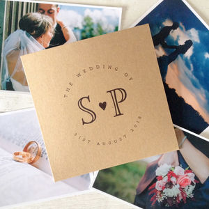 Set Of 10 'Initials' Wedding CD Dvd Covers