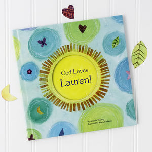 God Loves You! Personalised Book - baby toys