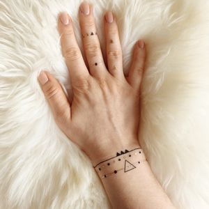 Constellation Temporary Tattoo