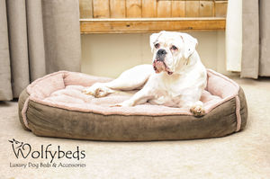 Cradle Fleece Dog Bed Size Large