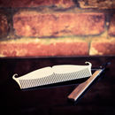 Amelie Stainless Steel Beard Comb Pocket Size