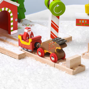Santa And Rudolph Train - cars & trains