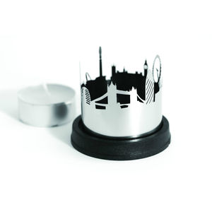 City Skyline Tealight Holder - candles & home fragrance