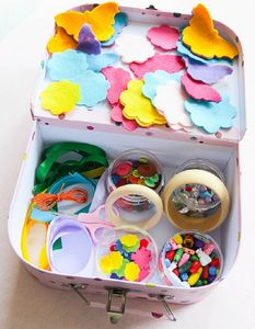 Childs Learn To Make Jewellery Suitcase - creative activities