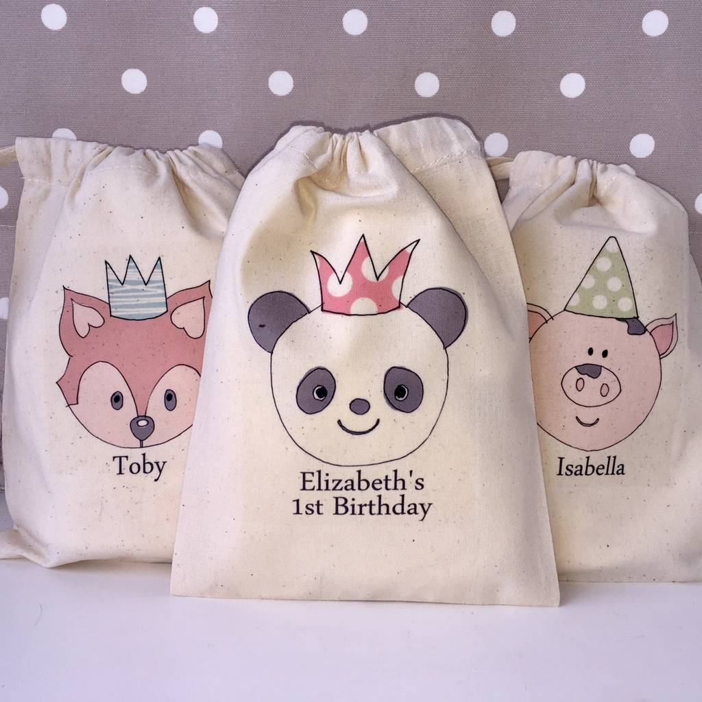 Personalised Gift Bags By Pear Derbyshire