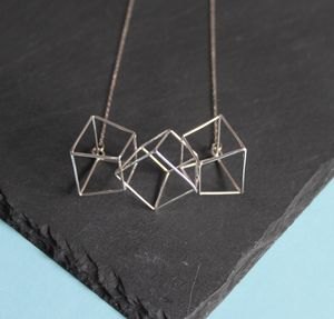 Three Prism Necklace - necklaces & pendants