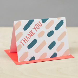 'Thank You Dash' Card - thank you cards