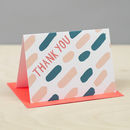'Thank You Dash' Card