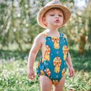 Baby Romper With Circus Lion's Design