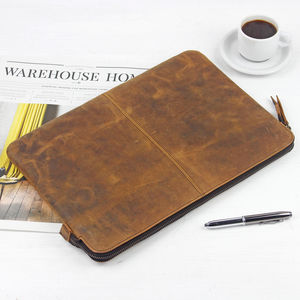 Leather Laptop Case 13' - bags & cases