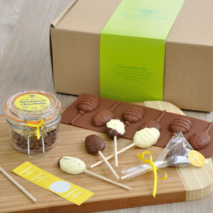 Easter Holiday Activity Or Gift: Make Choc Lollipops - make your own kits