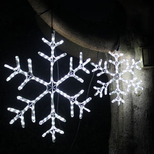 Twinkling Snowflake Light - lighting