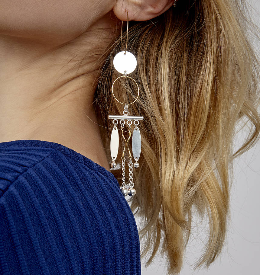 Laurelie Single Statement Earring