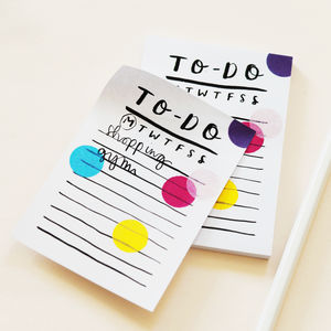 Mini To Do List Sticky Notes - off to university