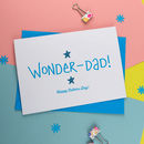 Wonder Dad Father's Day Card
