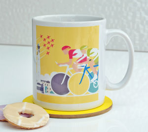 Tour De France Cycling Mug