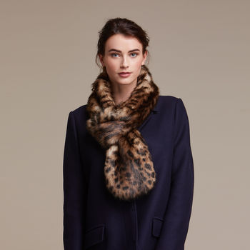 Luxuriously Soft Faux Fur Loop Scarf