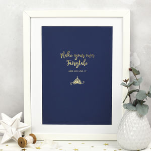 Make Your Own Fairytale Print - pictures & prints for children