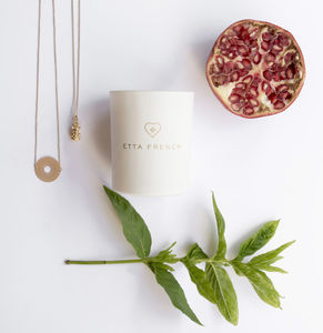 Pomegranate And Mint Jewellery Candle
