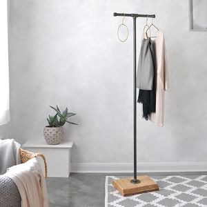 Industrial Coat And Clothes Stand - storage & organisers