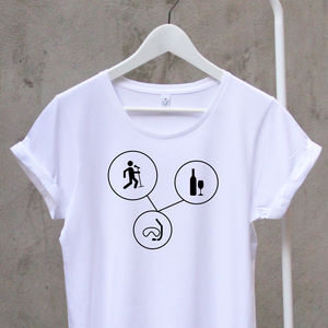 Sports And Hobbies Womans Cotton T Shirt - women's fashion