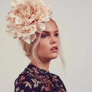 Seren Oversize Peony Flower Headband