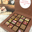 Chocolate Flower Box With Personalised Message