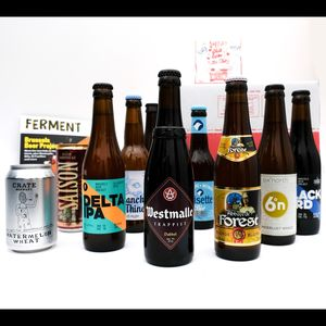 Eight Mixed Craft Beers And Ferment Magazine - gifts for him
