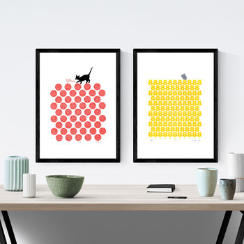 Two X A3 Size Framed Print Bundle Save 15%
