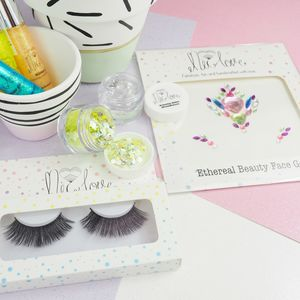Face Jewel, Glitter And Gel Kit - make-up