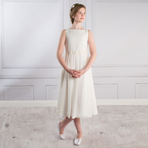 Florence Chiffon Dress - flower girl dresses